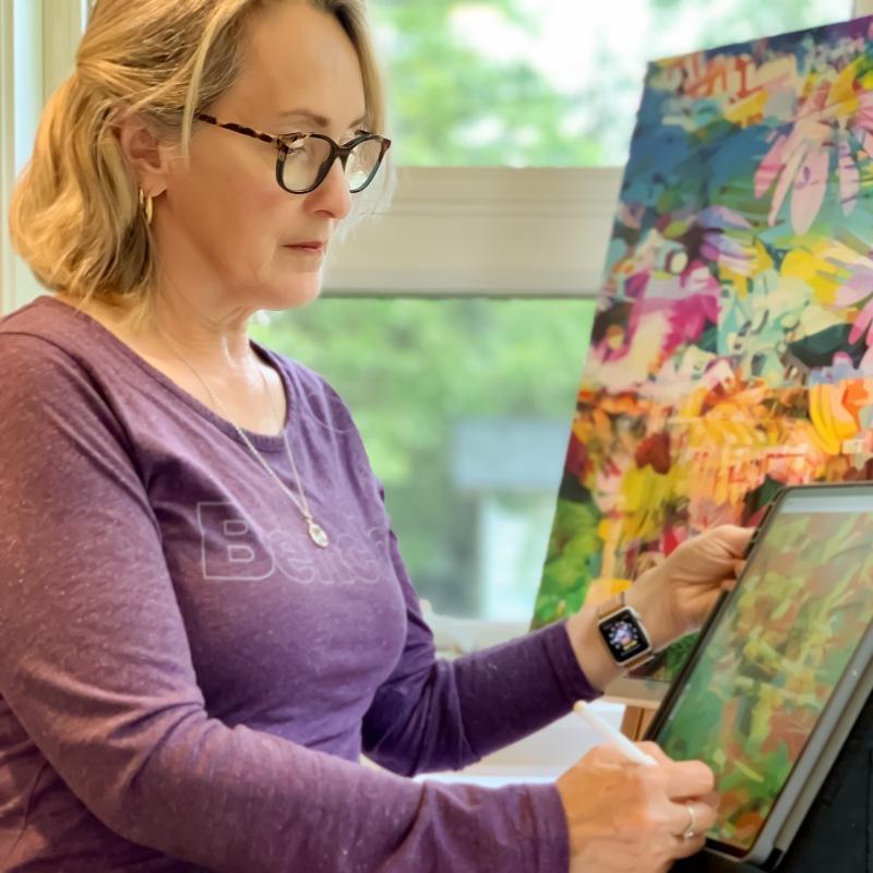Loretta Busch digital-painting BC Canada